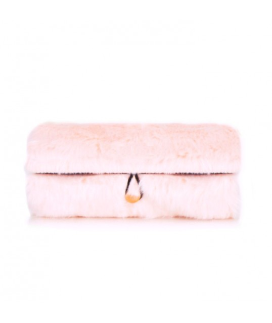 TROUSSE PINCEAUX ROLL ON ROSE CLAIR