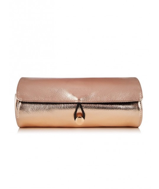 TROUSSE PINCEAUX ROLL ON ROSE GOLD